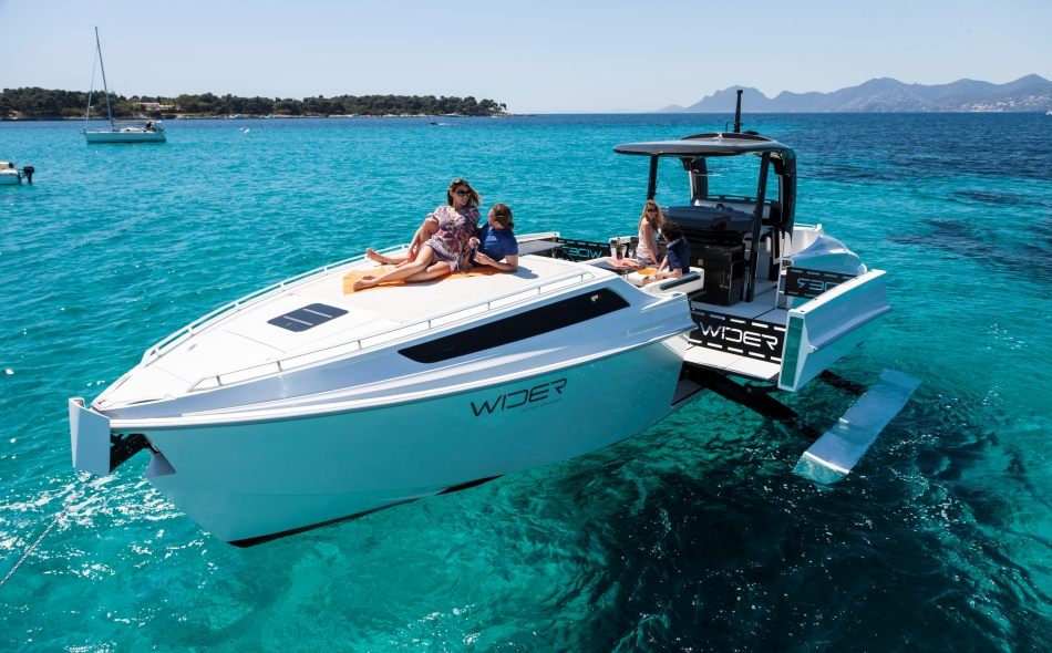 New Motor Yacht WIDER 42´ Cote D'Azur Edition By Wider Yachts