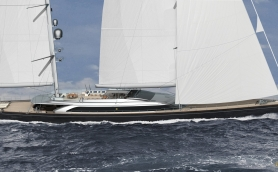 16668 Stepping On Board Italyandrsquos Largest Sailing Yacht Sybaris