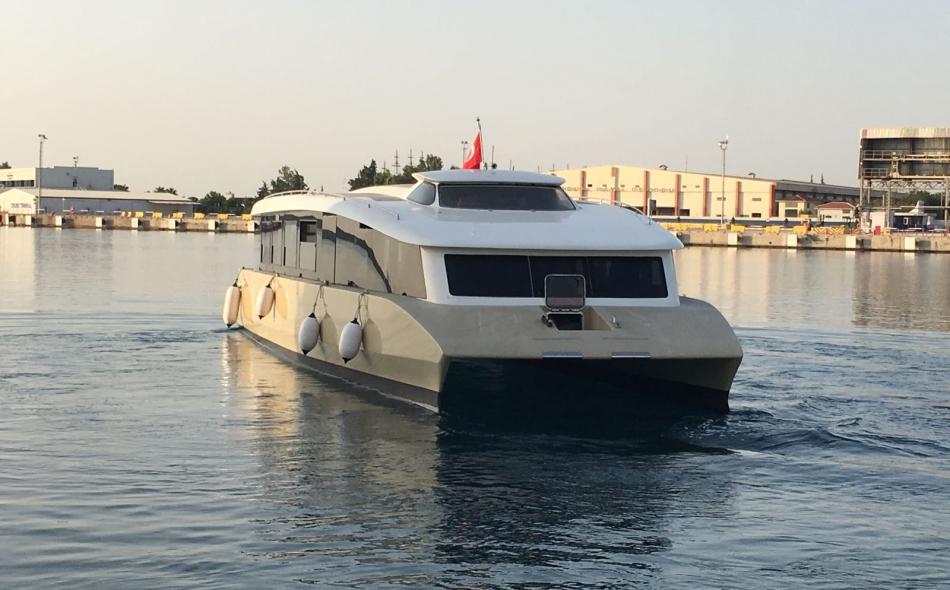 Passenger Solar Boat 4
