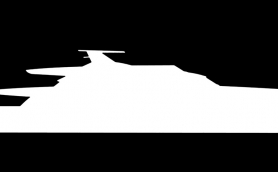 Luxury Yacht FR038 Silhouette By Luca Dini Design And Under Construction By Rossi Navi