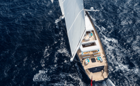 AQUIJO 85.9 Meter Charter Sail Yacht By VittersOceanco