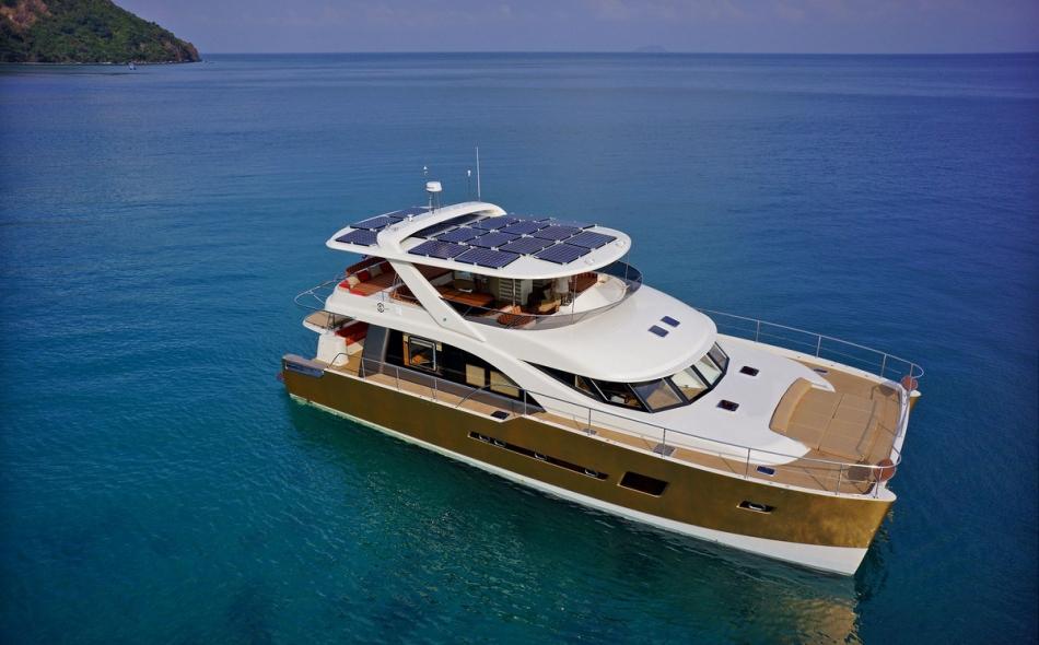 Heliotrope 70 Power Catamaran3