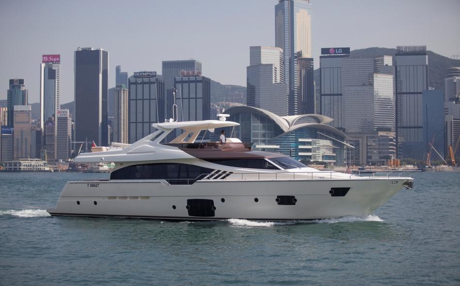 Ferretti 870 Superyacht Tai He Ban